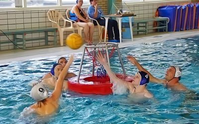 Integratietoernooi Waterbasketbal in Bad Hesselingen