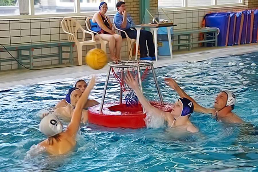 Integratietoernooi Waterbasketbal