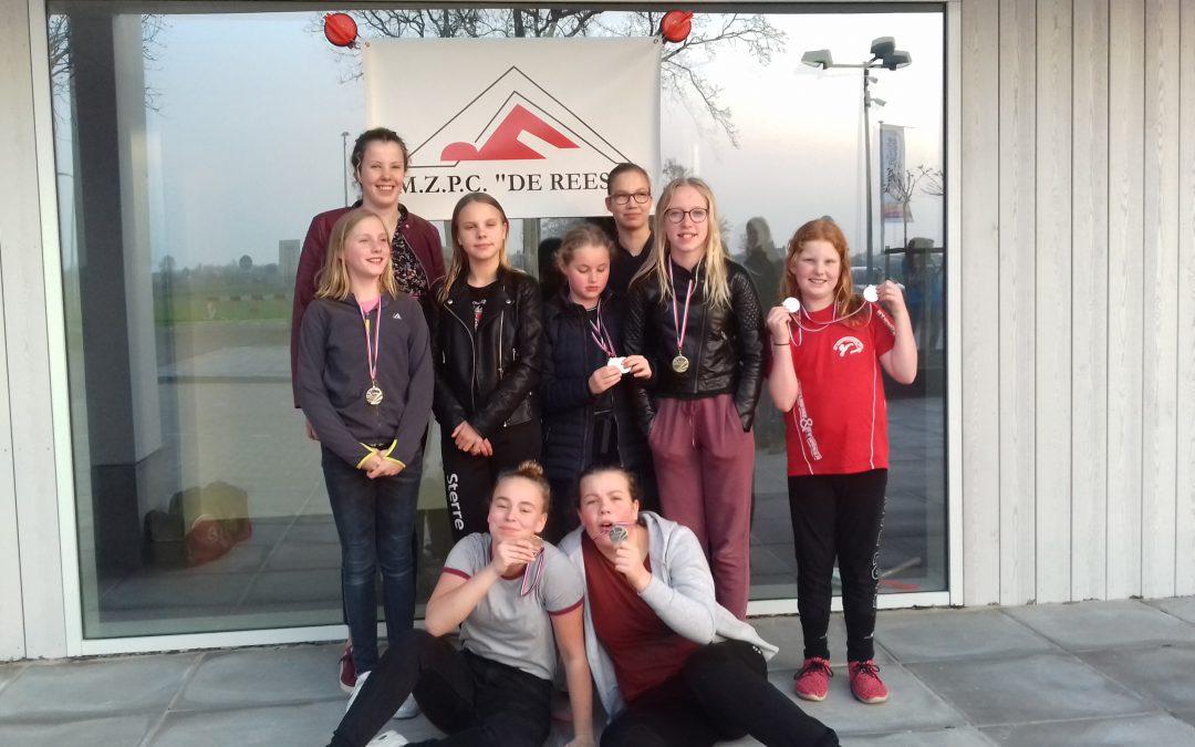 Uitstekende resultaten 10 kamp wedstrijd in Staphorst!