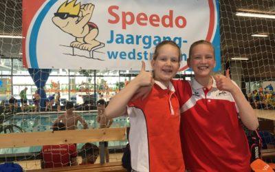 Goede prestaties maar vooral een fantastische ervaring bij deelname aan de Nederlandse Kampioenschappen door twee jonge zwemsters van MZ&PC de Reest!