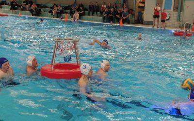 Waterbasketballers De Reest/Zwerfkei gaan als een trein!
