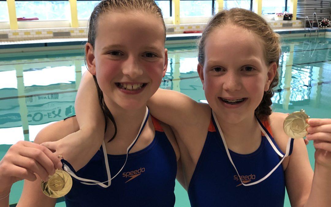 Deelname aan de Nederlandse Kampioenschappen door twee jonge zwemsters van MZ&PC de Reest!